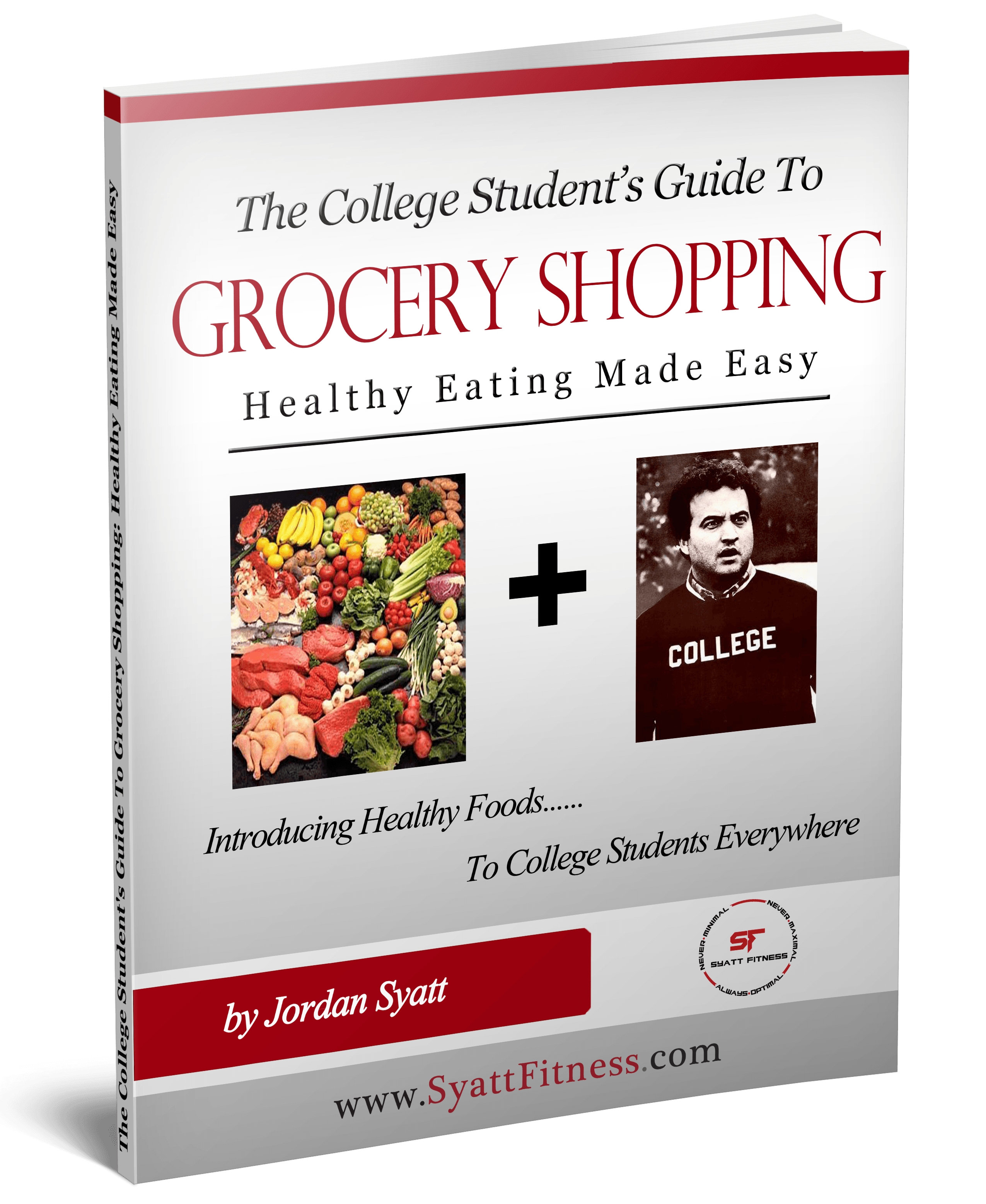 College Student Guide Grocery Shopping - COVER