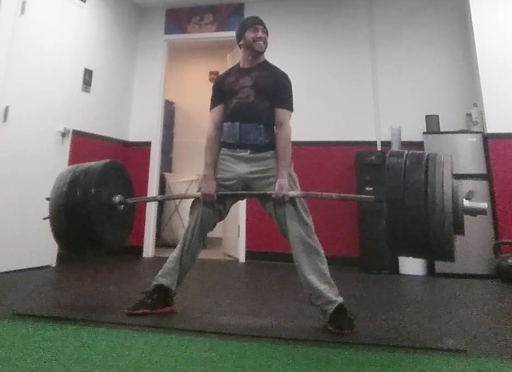 I'm one of the only people in the world to deadlift 4x my bodyweight
